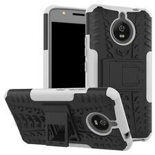 Etui Hybride 2 PIÈCES EXTÉRIEUR BLANC housse étui pour Motorola Moto E4 plus