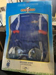 RARE TALKING SNOOPY JOGGING SUIT OUTFIT WORLDS OF WONDER NEW IN BOX