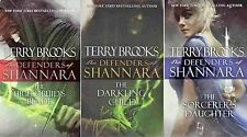 Defenders of Shannara Series Collection Set Books 1-3 Mass Market Paperback NEW!