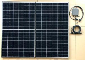 BKW 750 Watt Balkonkraftwerk Mini PV Photovoltaik Solaranlage inkl. WLAN