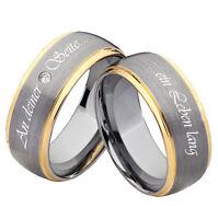 Eheringe Trauringe Verlobungsringe Partnerringe mit Ringe Lasergravur WZ83