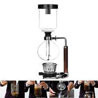 Handwerk Kaffeezubereiter Coffee Maker Kaffeemaschine Edelstahl Glas Filter Kit