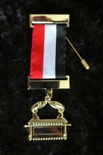 More details for masonic order of the scarlet cord - 4th grade members jewel - new