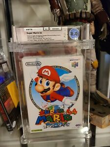 Super Mario 64 Nintendo N64 Video Game Wata Graded 8.0 N64 Debut !