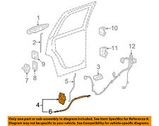 GM OEM Rear Door-Lock Actuator Motor 25876392