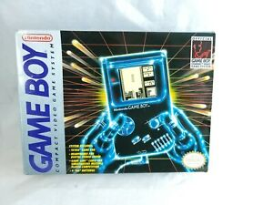 Original OEM Nintendo Game Boy Box and Styrofoam Only Authentic Gameboy