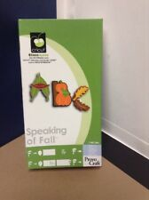 Cricut Cartridge - Speaking Of Fall - Gently Used - Complete!