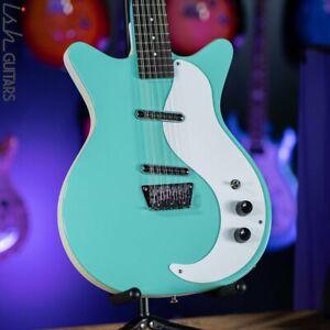 Danelectro 12SDC 12-String Electric Guitar Aqua