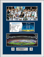 CHAMPIONS LEAGUE FINALE 2018 BIGLIETTO Display Frame REAL MADRID V Liverpool
