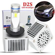 2X D2S LED Headlight Kit CSP Super Bright 70W 11000LM White 6000K Bulb DC 8V~48V