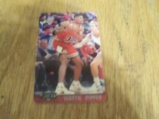 SCOTTIE PIPPEN SPRINT ASSETS 1996 2 MINUTE CALLING CARD 20 OF 30