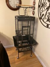 New listing Prevue Hendryx Small Wrought Iron Select Bird Cage - Black Pp-3151Blk