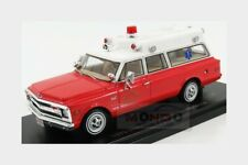 Chevrolet Suburban Ambulance 1970 With Stretcher NEOSCALE 1:43 NEO47246 Model