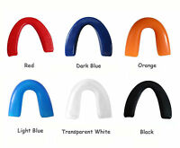 2pcs Mouth Guard Piece Teeth Protector for Football Basketball Soccer Boxing MMA
