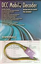 Model trains Soundtraxx MC2H104P9 Mobile decoder for HO Locos with 8 Pin plug