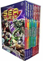 Sea Quest Series 5 and 6 Collection Adam Blade 8 Books Box Set Pack Sythid, Brux