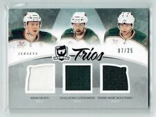 10-11 UD The Cup Trios  Mikko Koivu--G Latendresse--P-M Bouchard  /25  Jerseys