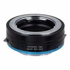 Fotodiox Pro Shift Adapter-Minolta Rokkor (SR/MD/MC) Lens to Sony E-mount camera