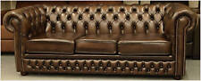 Leather Chesterfield suite chair sofa BRAND NEW SALE