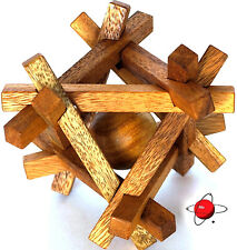 PRISONER - BIG Wood Puzzle Brain Teaser Noggin Busters