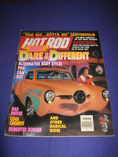 HOT ROD - BE DIFFERENT - July 1990 vol 43 # 7