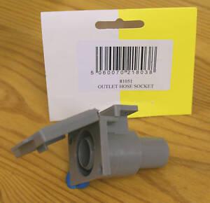 """3/4"""" Water Outlet Hose Socket - Caravan / Motorhome   -  81051"""