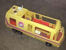 Vtg 1976 Barbie Star Traveler Eleganza Ii Motor Home Rv Camper Not Complete Used