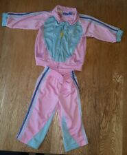 Baby's Pink Adidas Originals Retro Full Tracksuit Age 9-12 Months