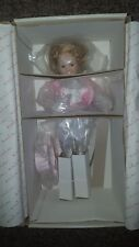 "Shirley Temple Movie Classics 'Dimple' 17"" Doll Danbury Mint Doll Collection New"