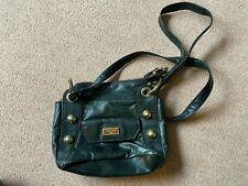 Suzy Smith, black leather cross body/shoulder bag