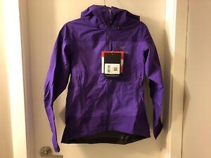 Women's Arcteryx Alpha Comp Hoody Goretex Jacket Size Small NWT