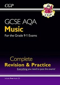 GCSE Music AQA Complete Revision & Practice (with Audio CD) - fo... by CGP Books