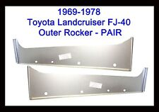 1969 - 1978 Toyota Land Cruiser FJ40 Outer Rocker Panels   NEW PAIR!!
