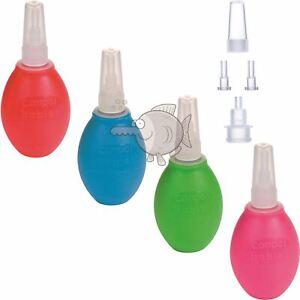 Handy Soft Baby Silicone Nasal Aspirator Vacuum Sucker Nose Mucus Snot Cleaner