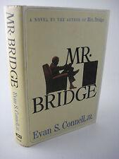 1st Edition MR. BRIDGE Evan S. Connell MOVIE Paul Newman NOVEL 4th Printing