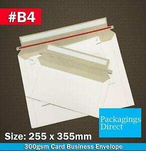 Card Mailer B4 255 x 355mm Tough Business Envelope 300GSM