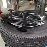 HOT Car Truck Tire Tyre Changer Bead Clamp Drop Center Rim Rim Hunter Tool BL