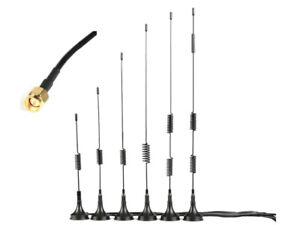 4G LTE Antenne Wifi Signal Booster Verstärker Modem SMA Stecker 5-15dBi Standfuß