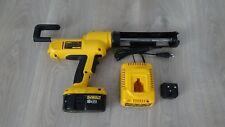 Dewalt DC547 18V 310ml Cartridge Cordless Sealant/Caulk Gun