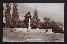 WW1 Postcard Alva War Memorial Ravensdowne Berwick-Upon-Tweed Northumberland