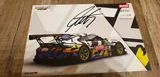 Autogramm LUCAS LUHR  IronForce Ring Police GT Masters 2019 PORSCHE Motorsport