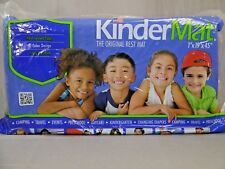 KinderMat Original Blue & Red Rest Sleeping & Exercise Mat 1 x 19 x 45 inch New