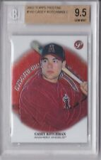 2002 Topps Pristine Casey Kotchman Rookie Graded BGS 9.5