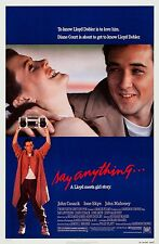 SAY ANYTHING (1989) ORIGINAL MOVIE POSTER  -  ROLLED