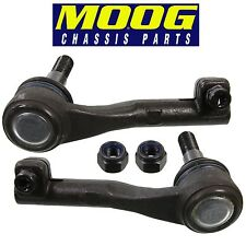 For BMW E82 E88 E90 E92 E93 X1 Z4 Pair Set of 2 Front Outer Tie Rod Ends MOOG
