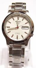 SEIKO 5 SNK789K1 Stainless Steel Band Automatic Men's White Watch 100% New
