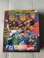 MARVEL  VS DC  Skybox Box (New in Sealed Box)