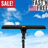 Long Range 380 Miles Outdoor Amplified HD TV Antenna High Gain 20±3dB UHF/VHF/FM