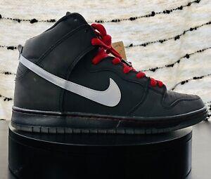 Size 12 - Nike SB Dunk High Premium 3M 'Raging Bull' (2012) - Reflective Skate