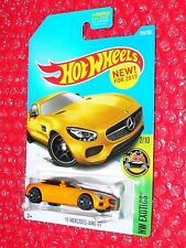 2017 Hot Wheels Mercedes-AMG GT #256  HW Exotics DTW84-D90BL  L case